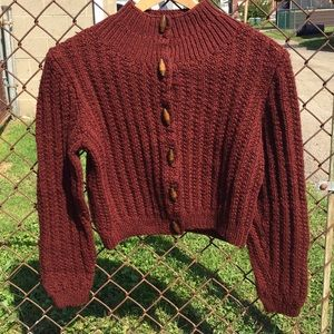 Hand Knit Sweater size S/M